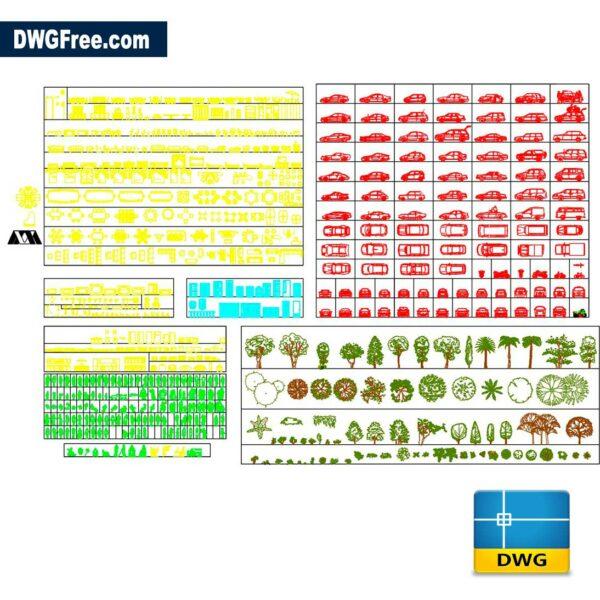 Blocks Various DWG CAD Blocks