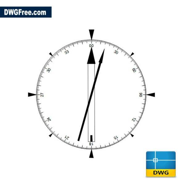 Compass-dwg-cad-blocks