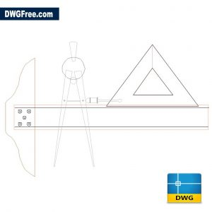 Engineering Tools DWG drawing in AutoCAD