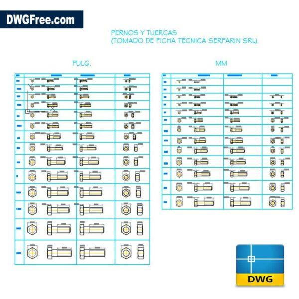 Hex-bolts-dwg-cad-blocks
