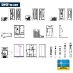 Shower-Parts-Dwg-drawing-CAD.