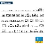 Tv-Units-Cads-Blocks-dwg