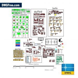 Blocks Bathroom Furniture DWG CAD Blocks
