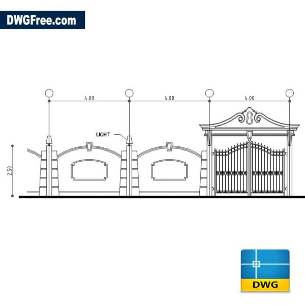 Boundary-wall-dwg-cad-blocks