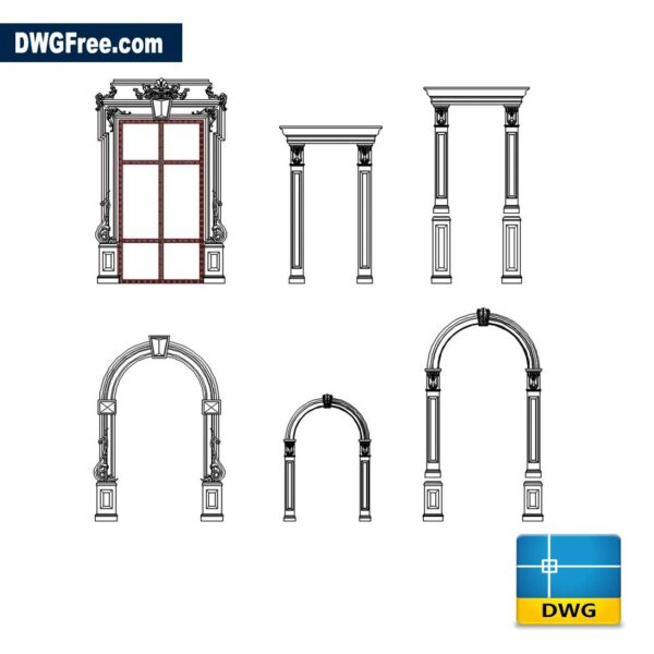 Decorative Frames For Doors Window