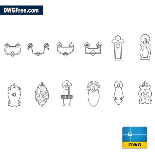 Doorknob-Cad-blocks-dwg