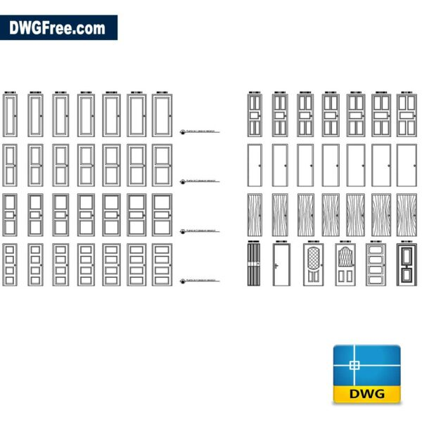 Doors-Cad-Blocks-dwg