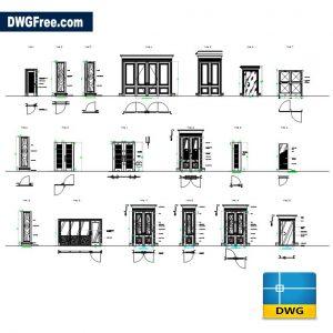 Doors Details DWG