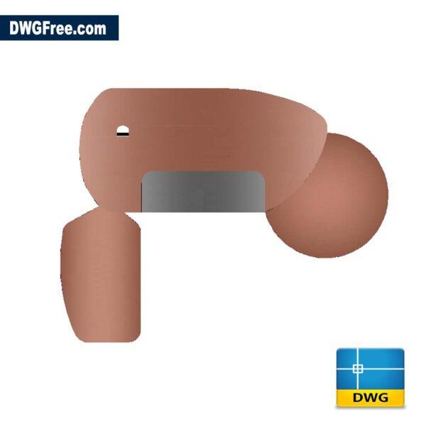Bespoke Office Desk DWG CAD