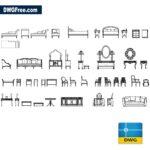 Drawing Classic Furniture CAD Blocks DWG