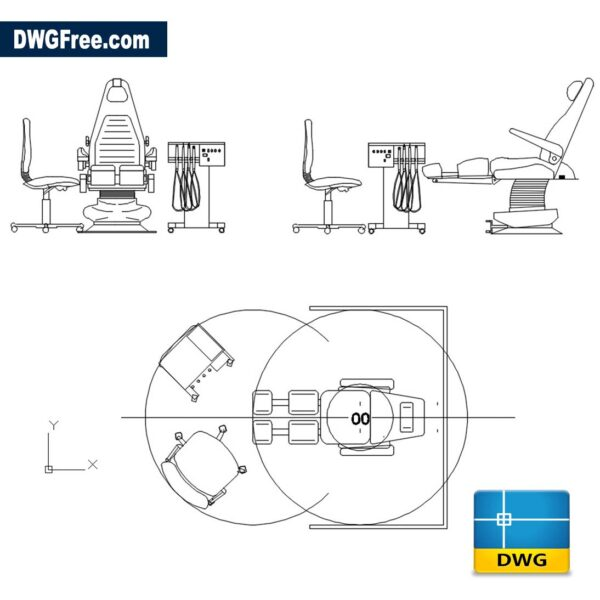 Dentist Chair Equipment DWG Drawing CAD