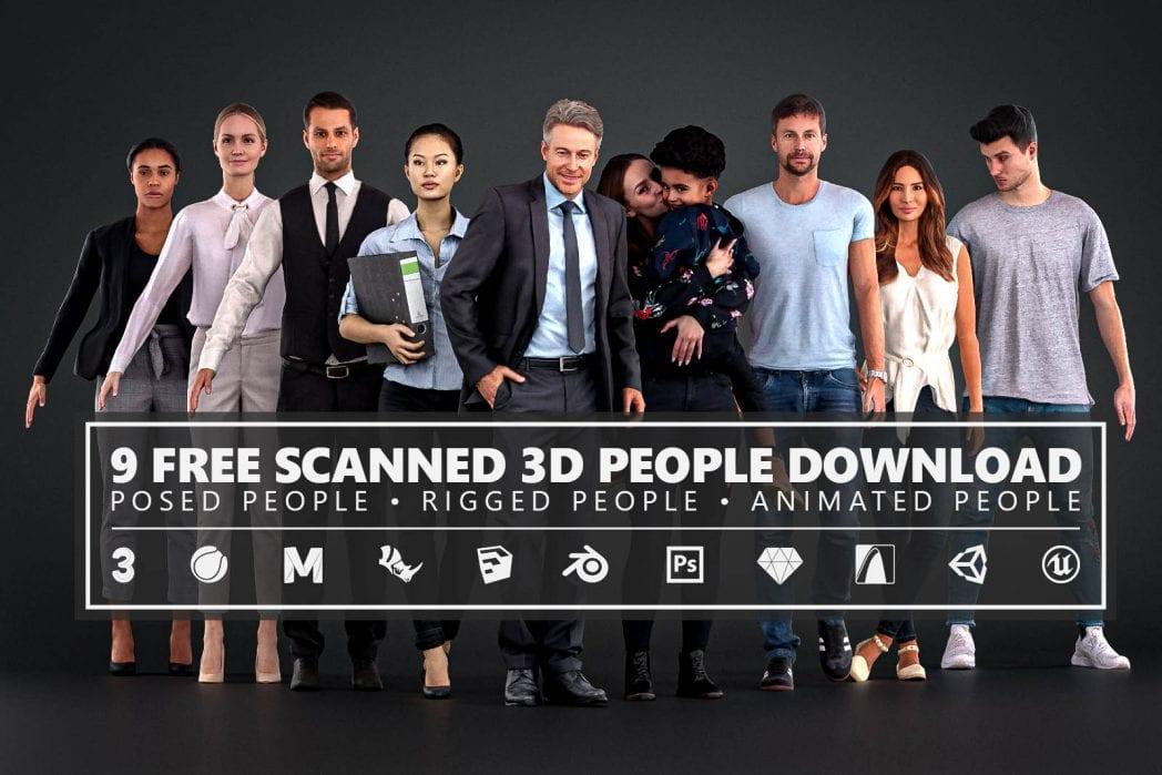 Renderpeople Free 3D People Download