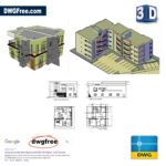 3D-Apartment-Design-dwg-AutoCAD