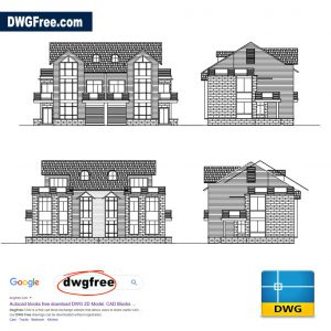 Apartment Design Elevations DWG CAD Blocks Free