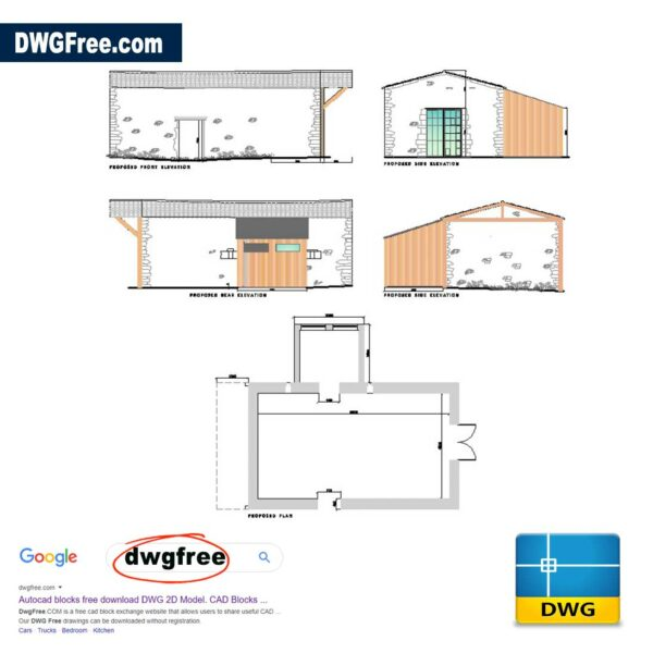Barn-with-timber-extension-dwg-drawing-CAD