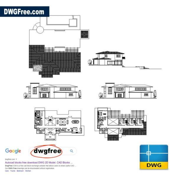Beach-House-Design-dwg-drawing-2D-CAD