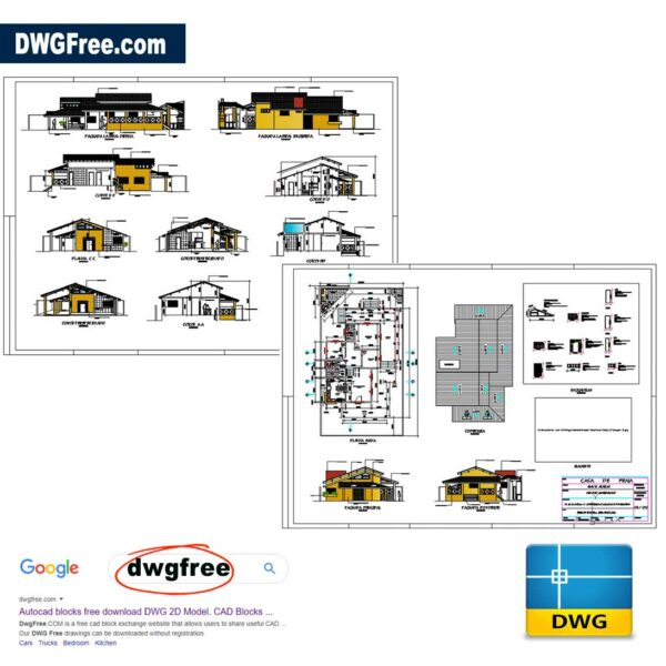 Beach-House-Dwg-in-AutoCAD-FREE