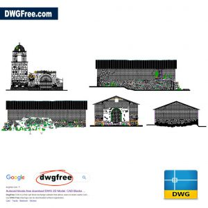 Drawing Church Elevations CAD DWG Files