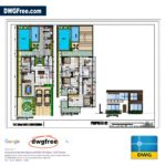 Drawing files Cute Villa Architectural CAD DWG