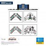 5-Stars-Hotel-Plan-CAD-2D-block