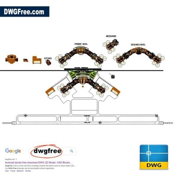 Airport-Control-Tower-autocad-2d-Blocks