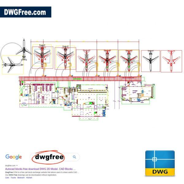Airport-Dwg-autocad-2d-blocks