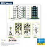 Apartment-6-Floor-Architecture-CAD-Drawing-2D