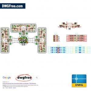 Apartment Building DWG CAD file
