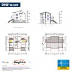 Drawing-Of-Village-Residential-DWG-CAD