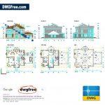 Family-House-Details-Dwg-AutoCAD-2D