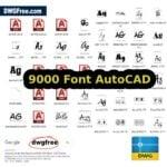 Font AutoCAD SHF TTF Download
