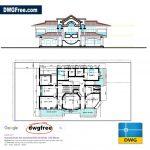 Grand Villa Project CAD DWG file