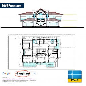 Grand Villa Project CAD DWG file