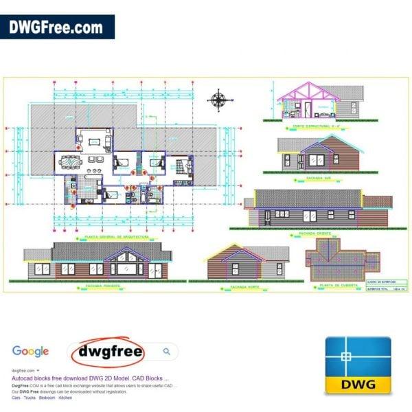 Level-House-Dwg-Drawing-AutoCAD-blocks