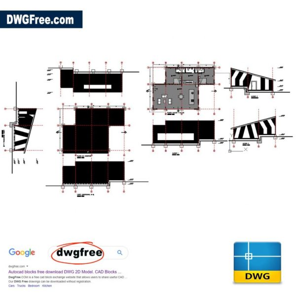 Wooden-House-Dwg-drawing-AutoCAD-FREE
