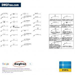 Description of Welding Symbols DWG CAD