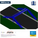 Footbridge-3D-cad-free-blocks