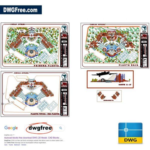 Grand-Hotel-Dwg-Tacna-Peru-2D-AutoCAD-Drawing
