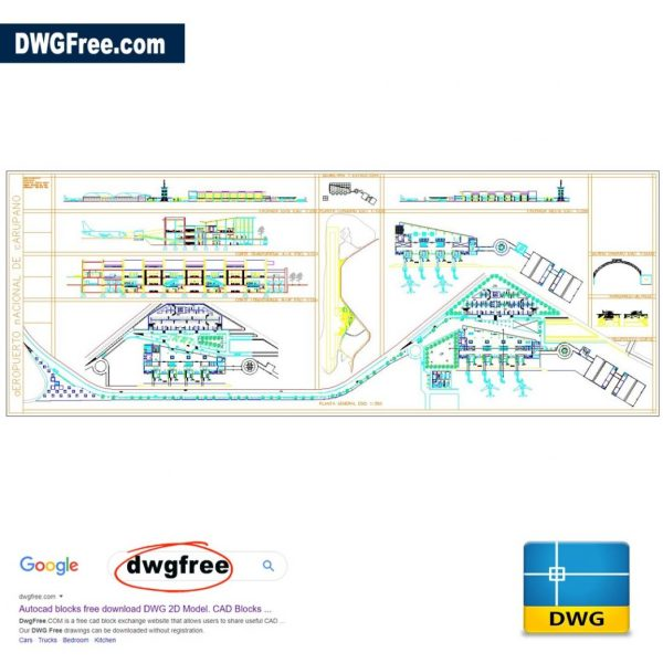 International Airport Projects DWG CAD Files