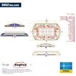 Multiple-Stadion-Free-AutoCAD-2D