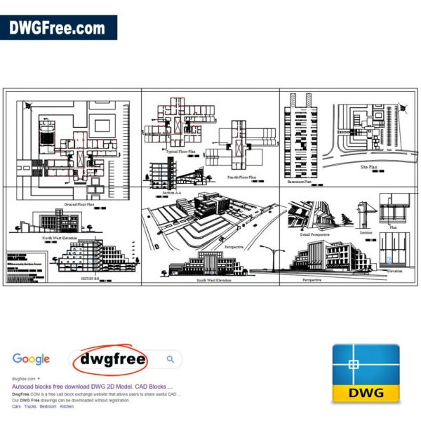 Municipality-Building-AutoCAD-Drawing-dwg