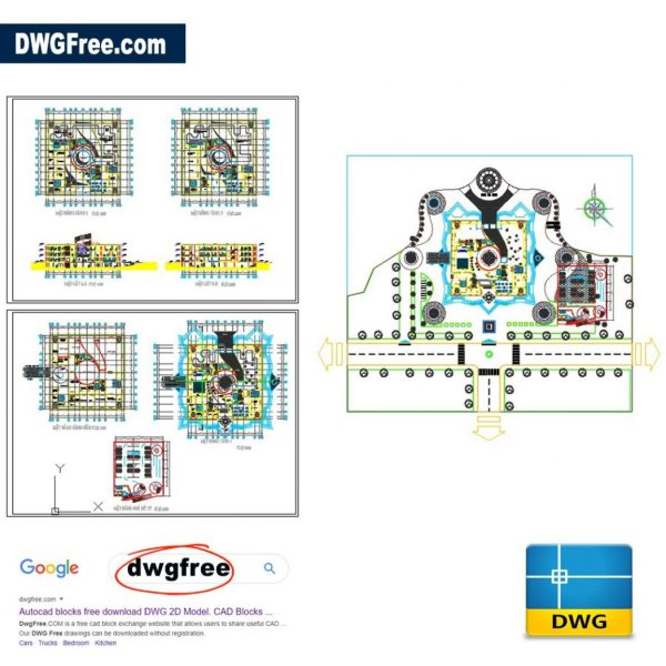 Museum Project DWG CAD Files
