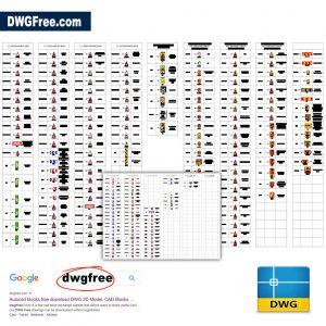 Road Signs Qatar Traffic Manual 2015 DWG CAD Free
