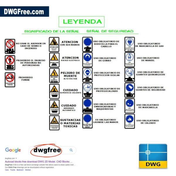 Symbol-Security-signals-dwg-cad-blocks