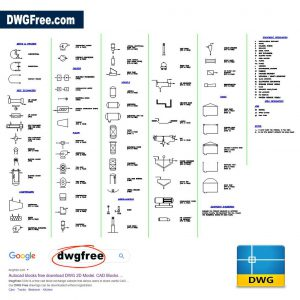Symbols Used in Process Plants DWG in CAD