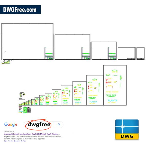 Sheet Format CAD in DWG file