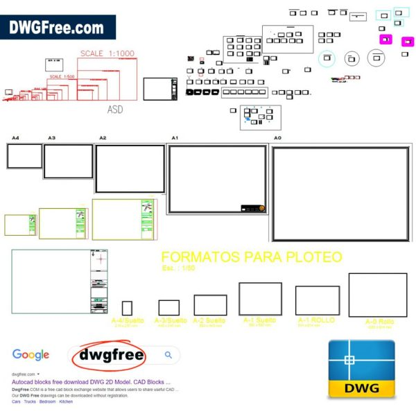 Boxes-for-different-plans-cad-dwg-in-autocad
