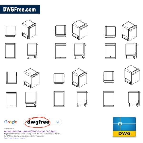 Dishwashers-cad-blocks-file-dwg