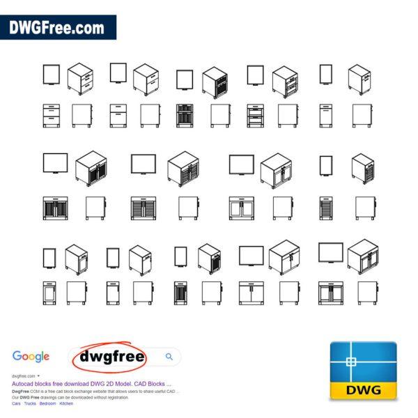 Drawer-Cabinet-cad-blocks-in-dwg-file