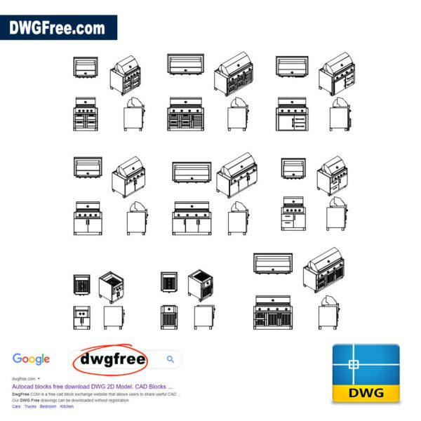 Gas-Grill-cad-blocks-in-dwg-file